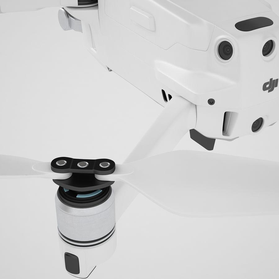DJI Mavic 2 Pro White royalty-free 3d model - Preview no. 33