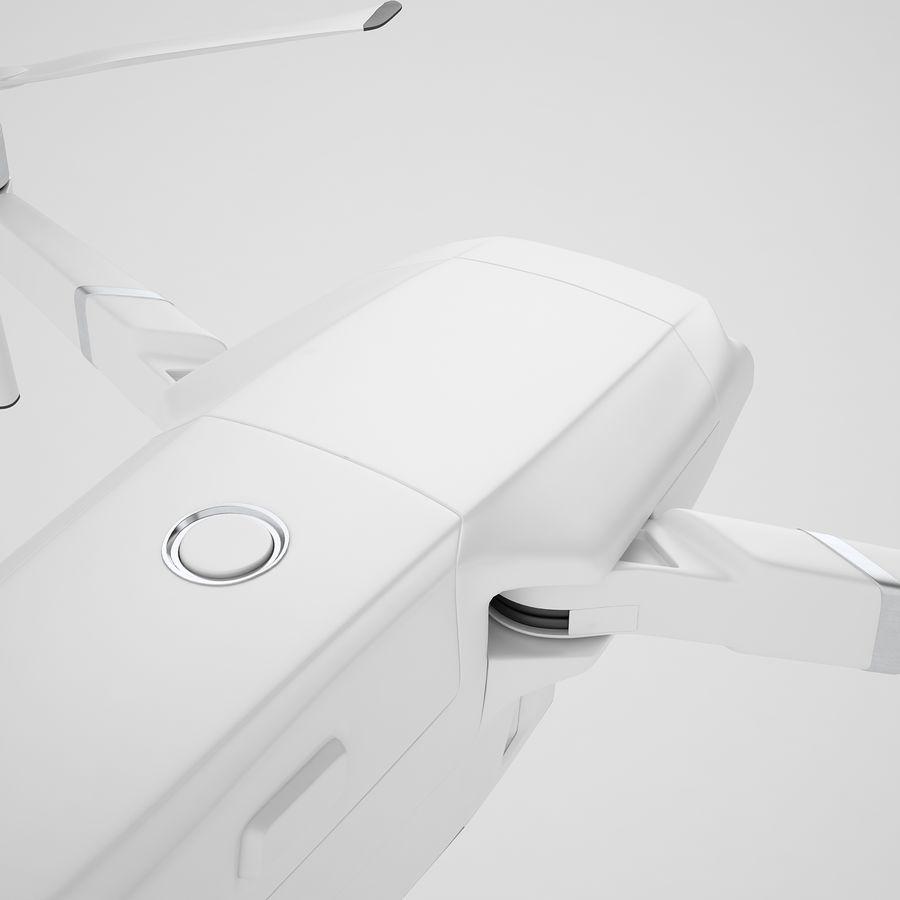 DJI Mavic 2 Pro White royalty-free 3d model - Preview no. 27