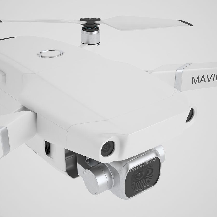 DJI Mavic 2 Pro White royalty-free 3d model - Preview no. 25