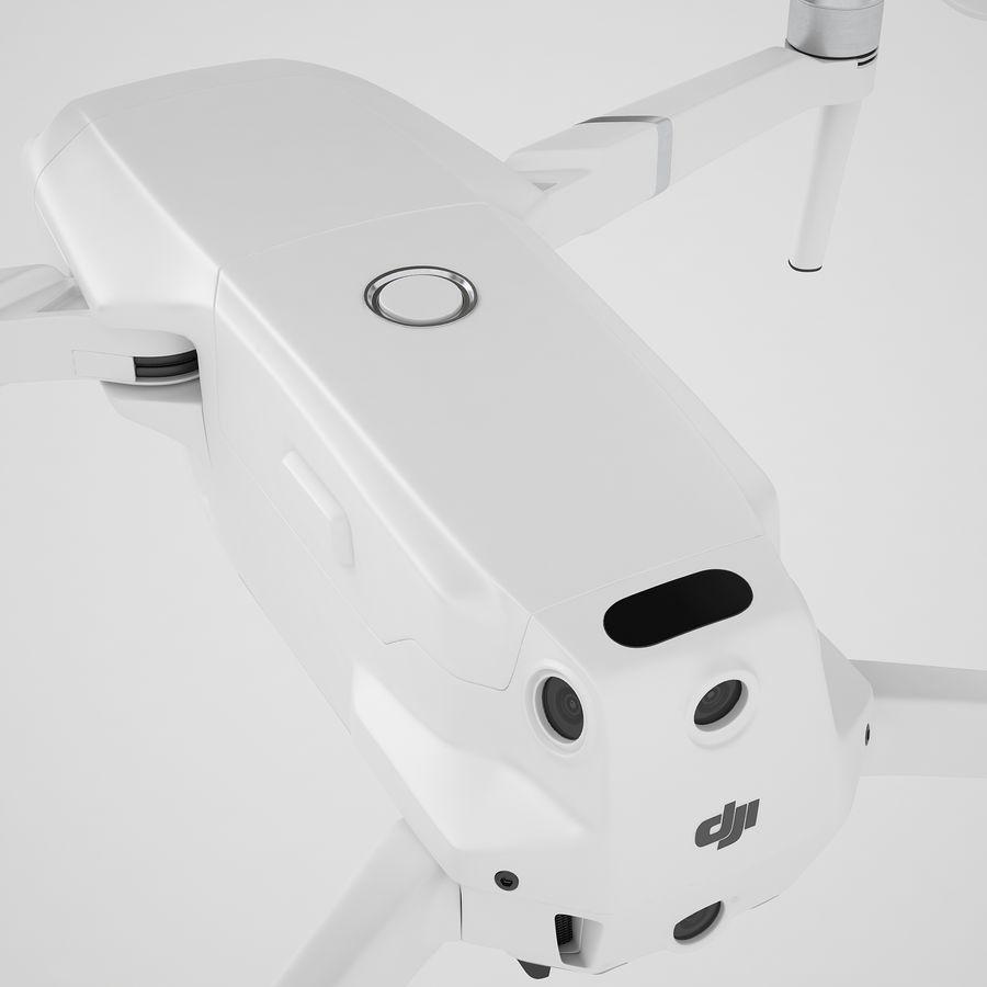DJI Mavic 2 Pro White royalty-free 3d model - Preview no. 37