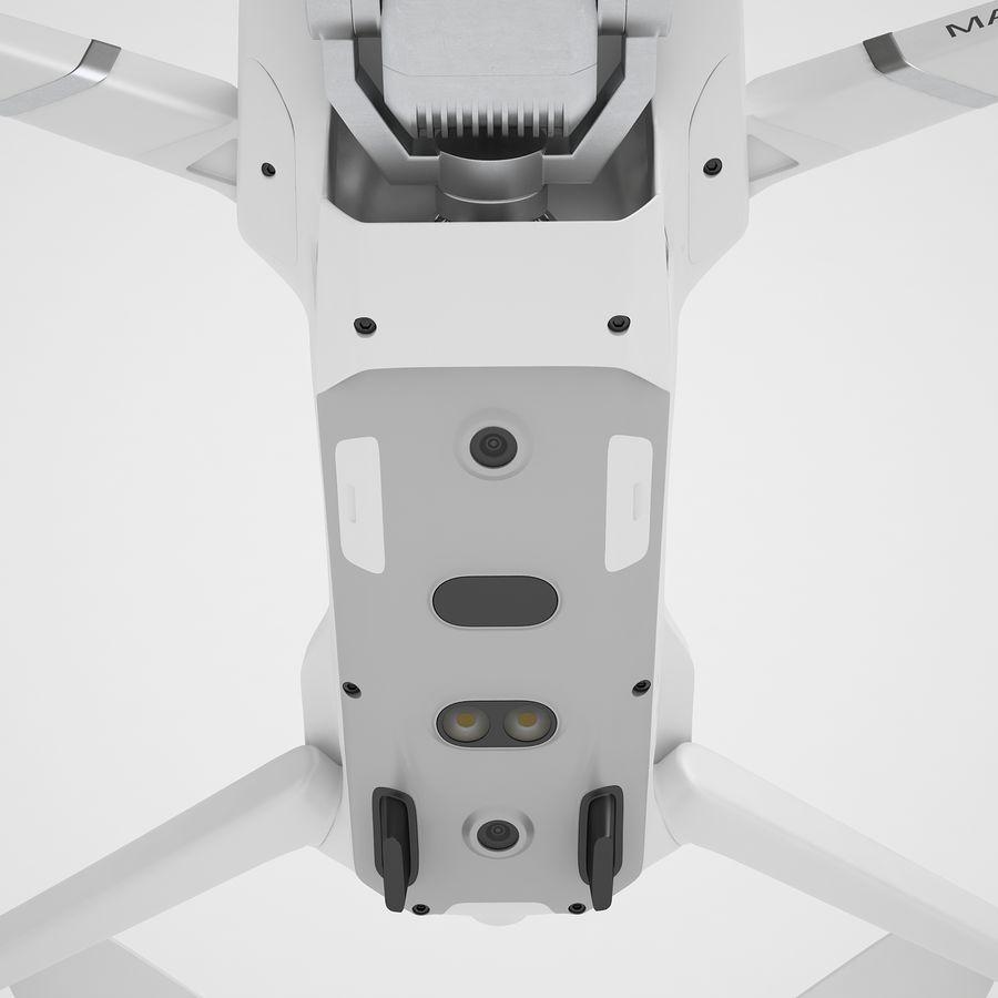 DJI Mavic 2 Pro White royalty-free 3d model - Preview no. 39