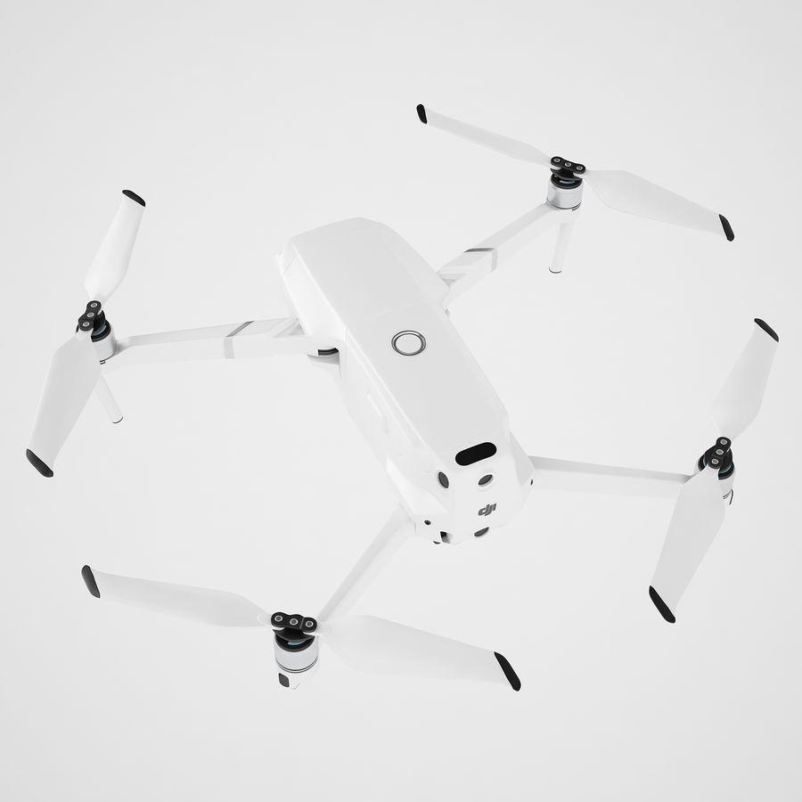 DJI Mavic 2 Pro White royalty-free 3d model - Preview no. 11