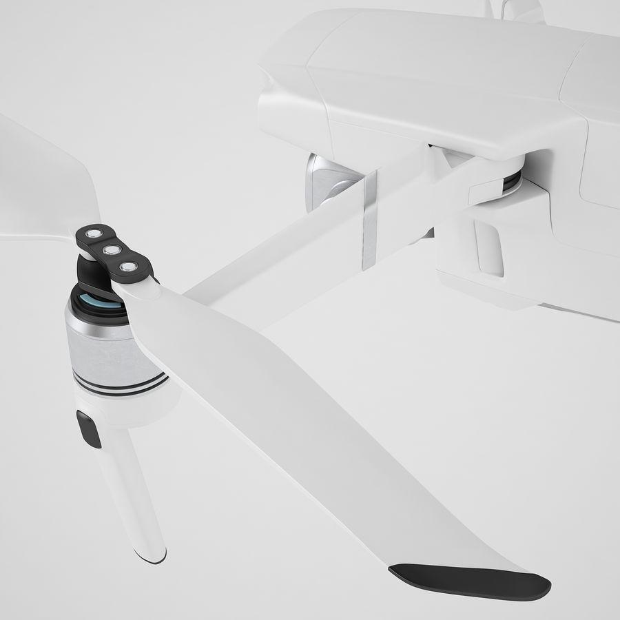 DJI Mavic 2 Pro White royalty-free 3d model - Preview no. 35