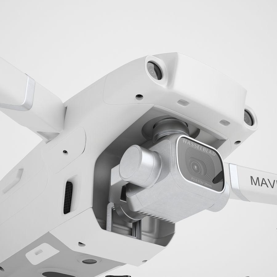 DJI Mavic 2 Pro White royalty-free 3d model - Preview no. 21