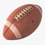 美式足球球 3d model