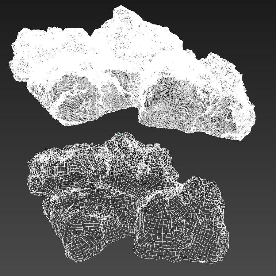 Keien van het koraalrif royalty-free 3d model - Preview no. 12