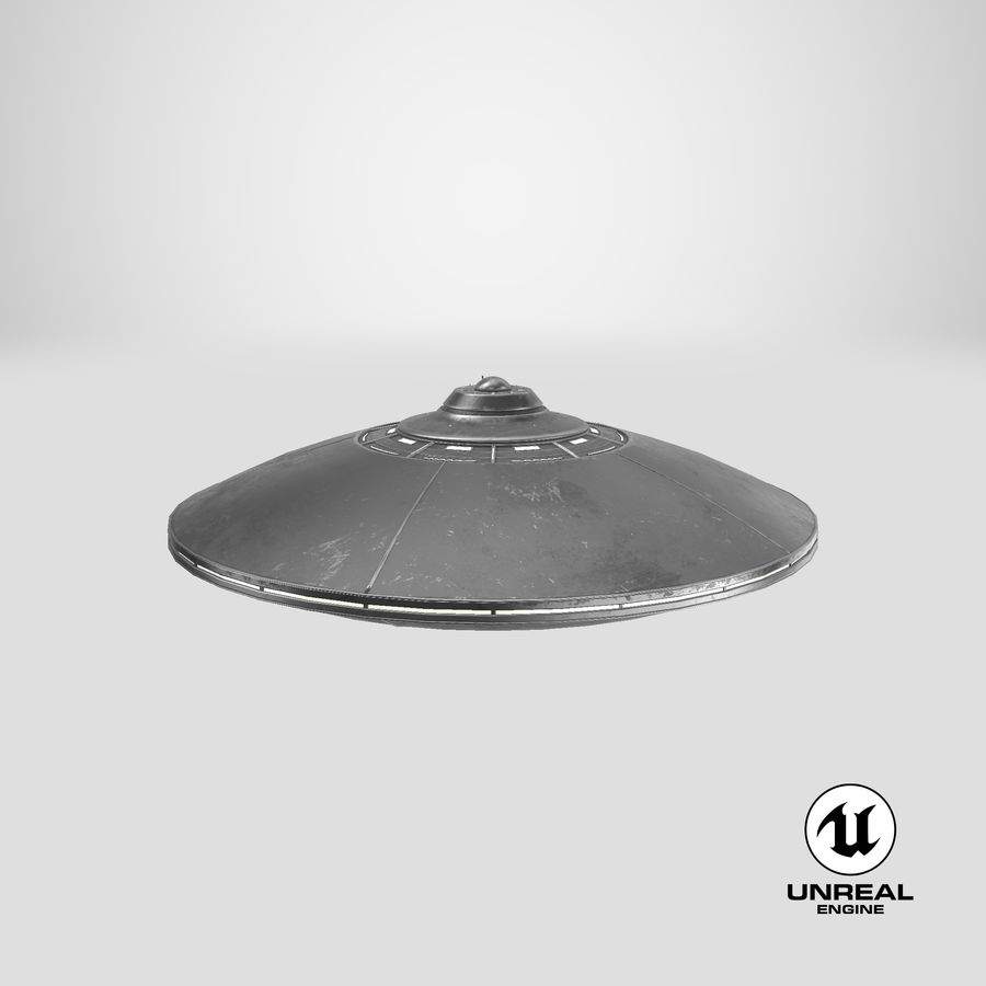 UFO 2 royalty-free 3d model - Preview no. 19