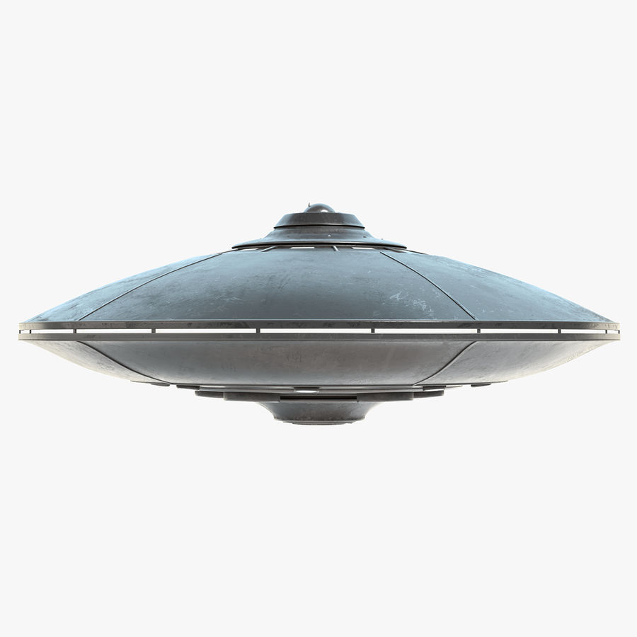 UFO 2 royalty-free 3d model - Preview no. 1
