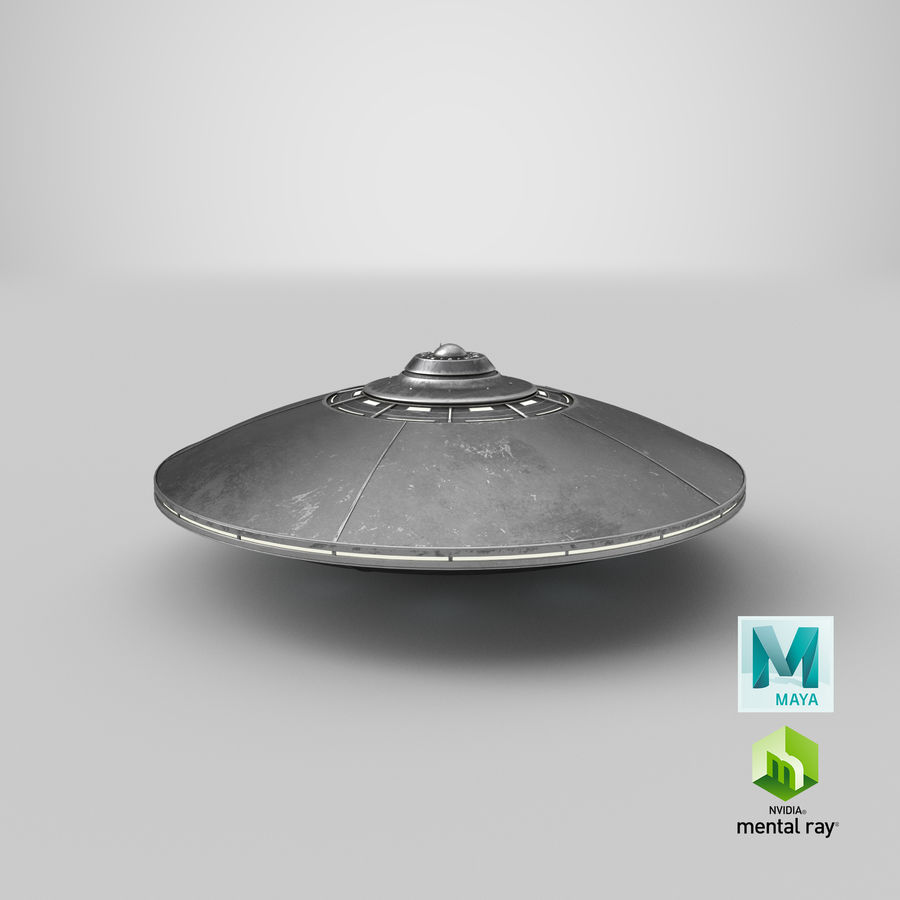 UFO 2 royalty-free 3d model - Preview no. 16
