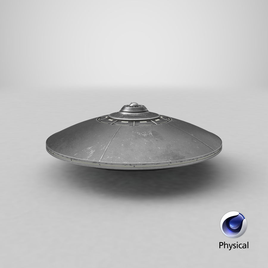 UFO 2 royalty-free 3d model - Preview no. 21