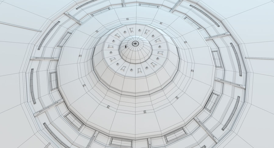 UFO 2 royalty-free 3d model - Preview no. 12