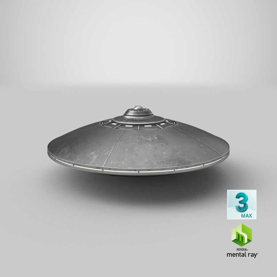 UFO 2 royalty-free 3d model - Preview no. 18