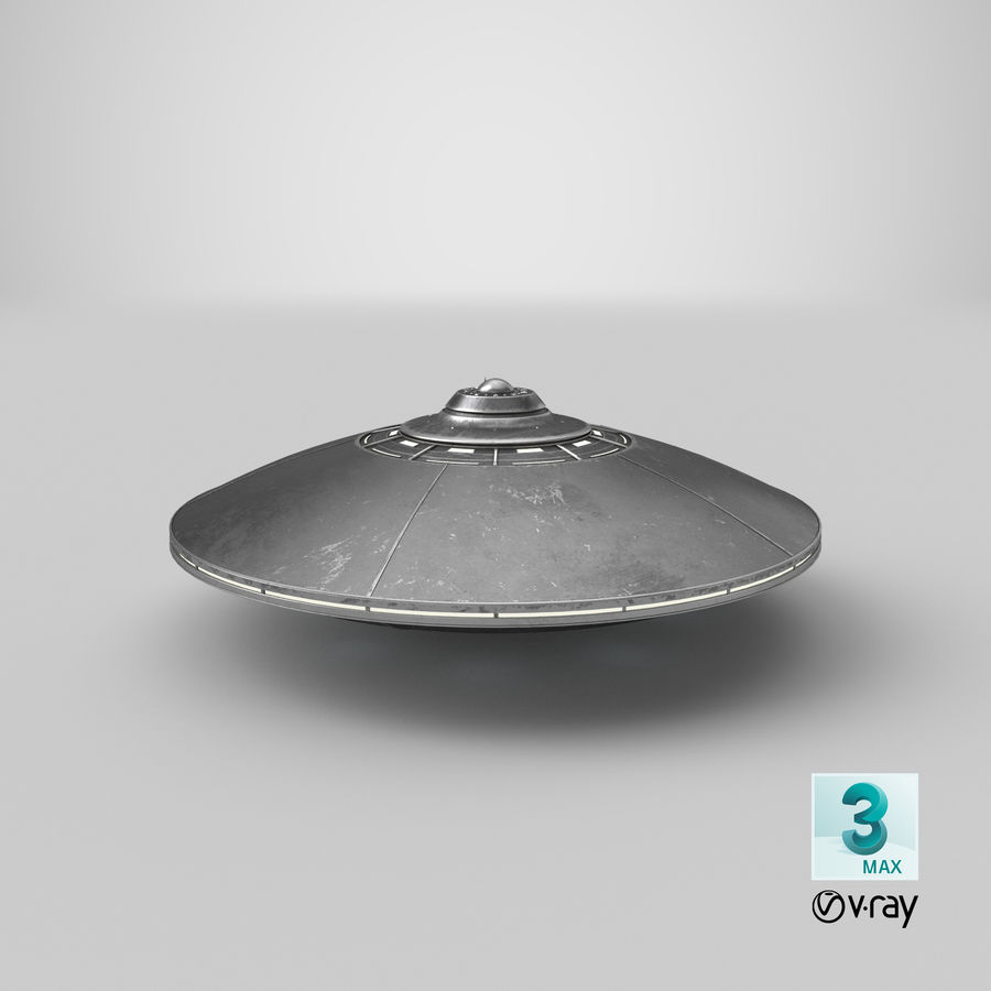 UFO 2 royalty-free 3d model - Preview no. 17