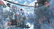Asian Fantasy Environment 3d model