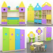 Meubles pour enfants 3d model