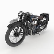 Vintage motorcycle L300 3d model