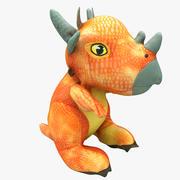 Plush Dinosaur 3d model