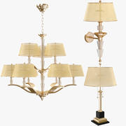 Colección de lámparas de lujo modelo 3d