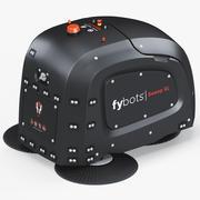 Robot de Nettoyage Fybots Balayage XL 3d model