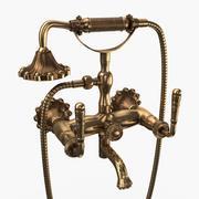 Antique Brass Faucet 3d model