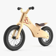 Early Rider Bicycle 3d model