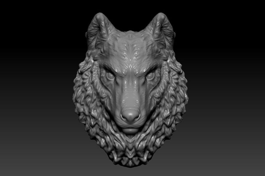 Kurt kafası royalty-free 3d model - Preview no. 1