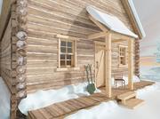 木屋外观 3d model