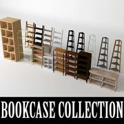 Bookcase Collection 3d model