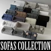 Sofa Collection 3d model