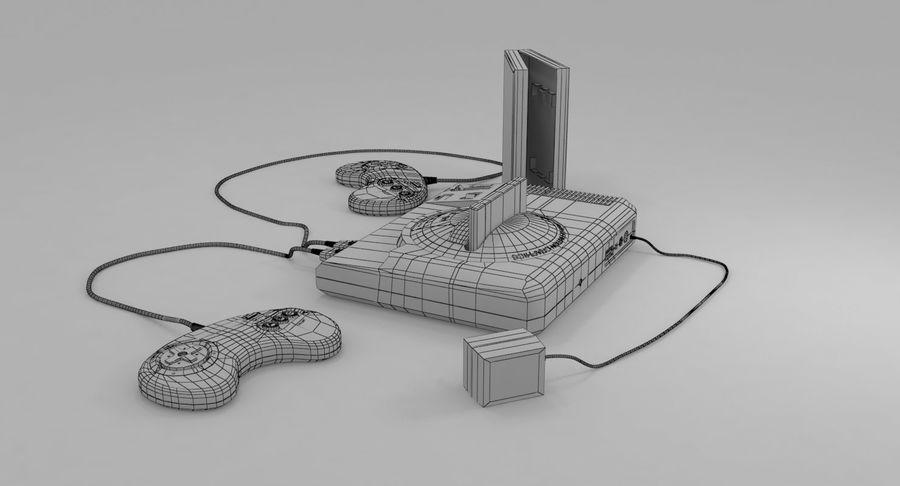Sega Genesis royalty-free 3d model - Preview no. 18