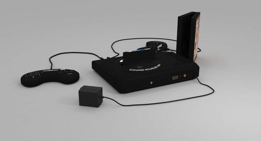 Sega Genesis royalty-free 3d model - Preview no. 5