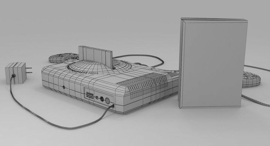 Sega Genesis royalty-free 3d model - Preview no. 20