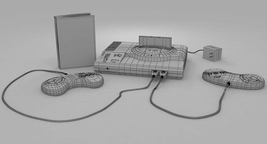 Sega Genesis royalty-free 3d model - Preview no. 16