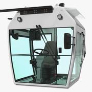工业控制室3D模型 3d model