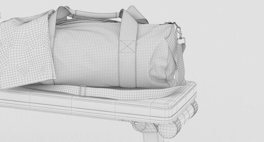 运动器材套装 royalty-free 3d model - Preview no. 16