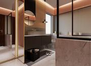 舒适的浴室 3d model
