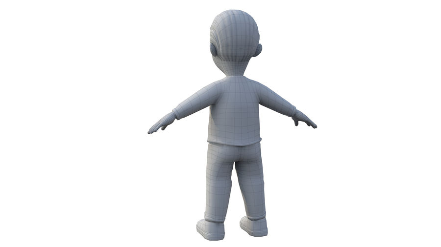 personnage royalty-free 3d model - Preview no. 6