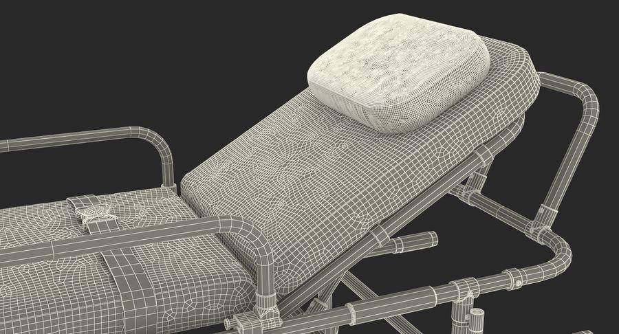 救护车担架车3D模型 royalty-free 3d model - Preview no. 25