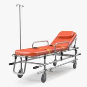 救护车担架车3D模型 3d model