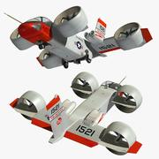 Bell X22A 3d model