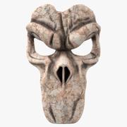Grim Reaper Mask 3d model