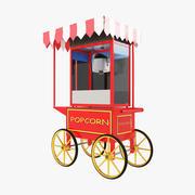 Popcorn Cart V1 modelo 3d