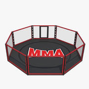 MMA-kooi 3d model