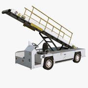 Airport Luggage Loader 3d model