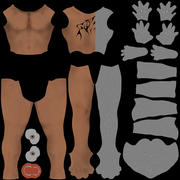 Männlicher Charakter 3d model