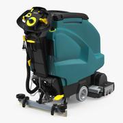 산업용 바닥 청소 기계 3d model