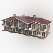 Casa de pueblo modelo 3d