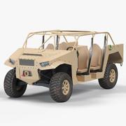 Polaris Dagor A1 3d model