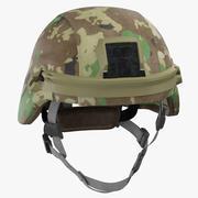 Продвинутый боевой шлем 3d model