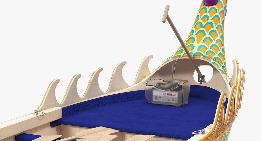 전통 용선 royalty-free 3d model - Preview no. 16
